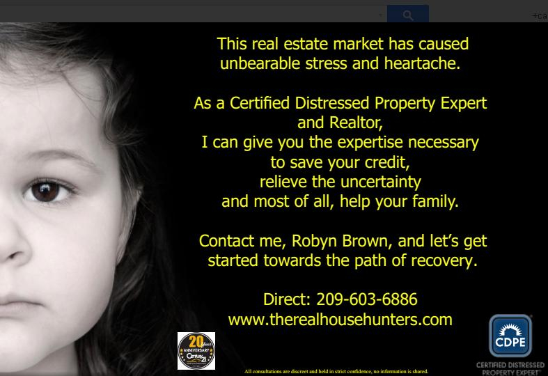 Robyn Brown - Short Sale Marketing